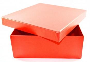 Caja Cuadrada  Roja